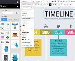 Online Timeline Creator Free Free Timeline Maker Create A Timeline Infographic Venngage