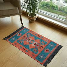 secret sea collection modern bohemian style small area rug 2 x 3 feet perfect for