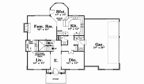 american house floor plans best of mead plains early american home plan 026d 1772 house simple