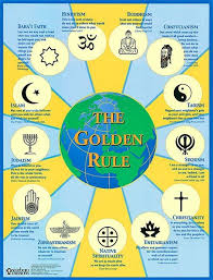 Zoroastrianism Vs Christianity Chart The Golden Rule As Seen From Christianity Unitarianism