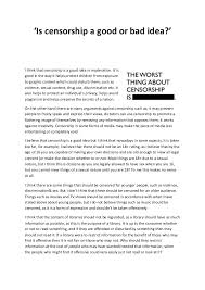 censorship essay jpg cb  virginia tech corps of cadets admissions essay