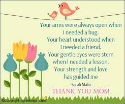 Thank You Mom Quotes Custom Mothers Day Quotes Mothers Day Quotes Sayings Dgreetings