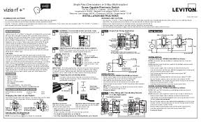 leviton vrs15 1 lz installation manual and setup guide leviton 3 way switch dimmer at Leviton 3 Way Switch 5603 Wiring Diagram