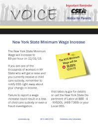 what you need to know about the hr min wage increase labor ny gov for details or call the new york department of labor
