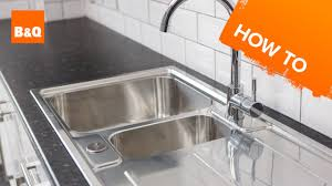How To Replace A Kitchen Sink Part 3 Fitting Your New Sink Youtube