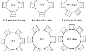 architecture 48 round table seats how many thetuck with 6 foot round table prepare from