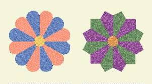 Dresden Plate Quilt Pattern With History of This Free Block & pointed and curved ends on the petals Adamdwight.com