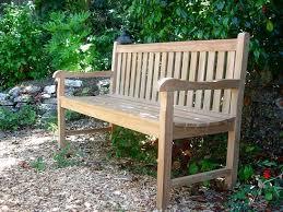 5 garden bench