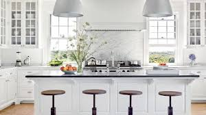All White Kitchen Designs New Decorating