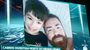 CASO HENRY MÃE CHORA EM ENTREVISTA COM CABRINI - YouTube