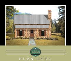 plan 750s stone on front tiny house plans small home plans micro tiny home plans micro home plans