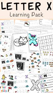 Worksheets, lesson plans, activities, etc. Letter X Worksheets For Preschool Kindergarten Fun With Mama