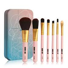 mr macy 7pc makeup brushes set powder foundation eyeshadow eyeliner lip cosmetic brush a