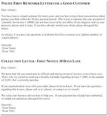 Past Due Bill Letter Invoice Reminder Letter Past Due Best Friendly Template Bill