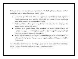 read full article httpwwwbestofsampleresumecomcashier cover letter sample 3 sample cashier cover letter