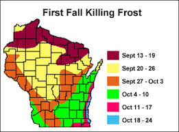 Us Growing Zone Chart Maps Wisconsin Horticulture