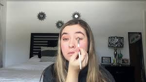 bright winter makeup routine