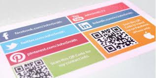 15 Stylish Social Media Business Cards Designs