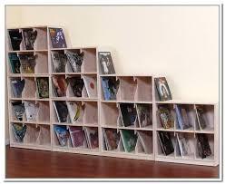 ... Vinyl Records Storage Record Shelves Bookcase With Regard To Decor