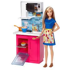 Barbie Kitchen Furniture Barbie Doll And Furniture Kitchen Playset Toysrus