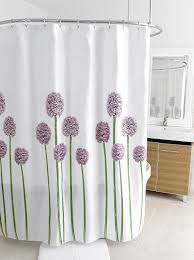amazoncom splash home shower curtain  by inch allium