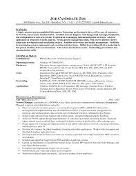 Entry Level Network Administrator Resume Examples
