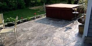 concrete patio cost stamped concrete patio concrete patio cost indianapolis