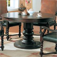 54 round dining table set amazing coaster riverside round semi formal dining table in dark wood