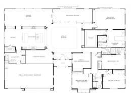Small 5 Bedroom House Plans 5 Bedroom House Plans Single Story