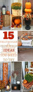 The 25+ best Fall front porches ideas on Pinterest | Fall porch ...