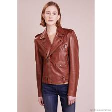 polo ralph lauren plonge leather jacket soft brown womens leather jackets po221u00c o11