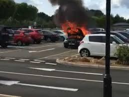 Game East Midlands Designer Outlet Car Park Fire Chaos At East Midlands Designer Outlet
