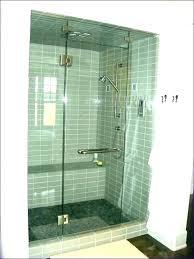 small stand up shower 1 corner wash