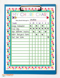 Free Printable Chore Charts I Should Be Mopping The Floor