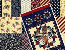 Colonial Manor Fabric Stars And Stripes Pattern Quilt Kit None ... & ... Love And Glory By Faye Burgos Marcus Fabrics Quilts Of Valor Marcus  Brothers Quilts Of Valor ... Adamdwight.com