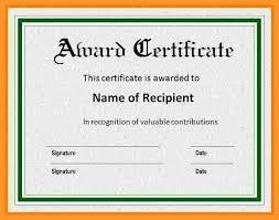 Recognition Awards Certificates Template 12 13 Sample Certificate Of Recognition Awards Loginnelkriver Com