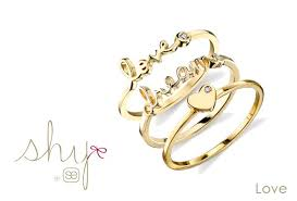 shy rings collection