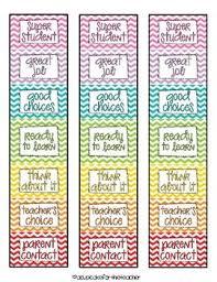 Clip It Behavior Chart Chevron Behaviour Chart Chart