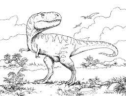 Print Free Dinosaur Coloring Pageslllll