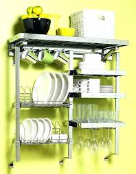wall kitchen rack utensil rack wall mount complete kitchen rack wall mounted rack holds dishes glassware wall kitchen rack