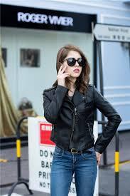 elliz clothing leather moto jacket alternative fashion for biker girl