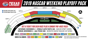 Texas Motor Speedway Suite Chart Aaa Texas 500 Weekend 4 Pack