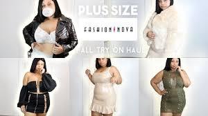 Hold Up Im A Size Xl In Fashion Nova Fashion Nova Plus Size Fall Try On Haul