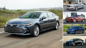 Comparing The 2019 Toyota Avalon To Full Size Sedan Rivals