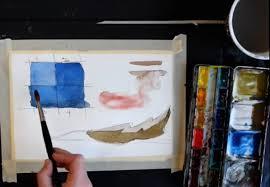 color brush skills for watercolor beginners