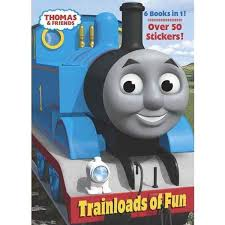 Thomas The Train Books Trainloads Of Fun Jumbo Sticker Coloring