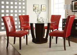 unique black dining table set with leather chairs stunning glass black dining table set and 6