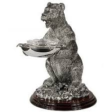 <b>Икорница</b> «<b>Медведь</b>» купить: цена на ForOffice.ru