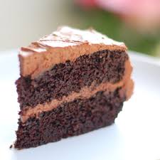 chocolate cake with frosting. Fine With Slice Of Double Chocolate Cake With Buttercream Frosting To Chocolate Cake With Frosting E