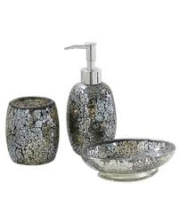black glitter bathroom accessories. black and gold sparkle mosaic glass bathroom set soap dispenser dish toothbrush | ebay glitter accessories